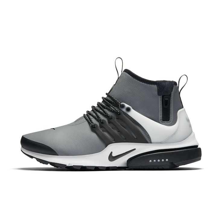 reputable site 8afd6 ff044 ... Nike Air Presto Mid Utility Mens Shoe Size 12 (Grey) - Clearance Sale  ...