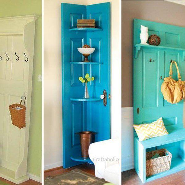 Super pomysł na stare drzwi