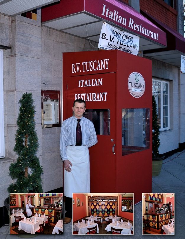 BV Tuscany -- Upscale Italian; menu includes some unexpected, creative dishes (Teaneck)