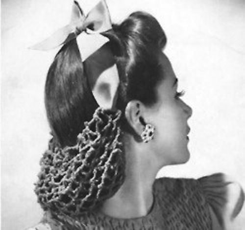Todays hair & make up inspiration from the 40s.
