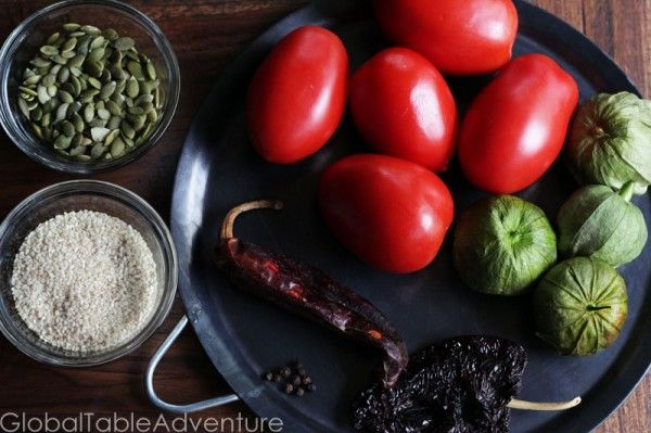 Recipe: Pepian Sauce (for Stewed Chicken or Veggies) | Guatemalan ...