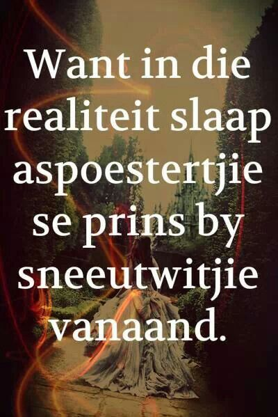 Harde realiteit!
