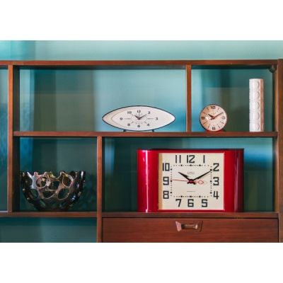 Bubble Alarm Clock, Mid Century Bubble Clock | Barn Light Electric