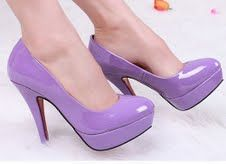 Sapatos roxos : fóruns | O Nosso Casamento