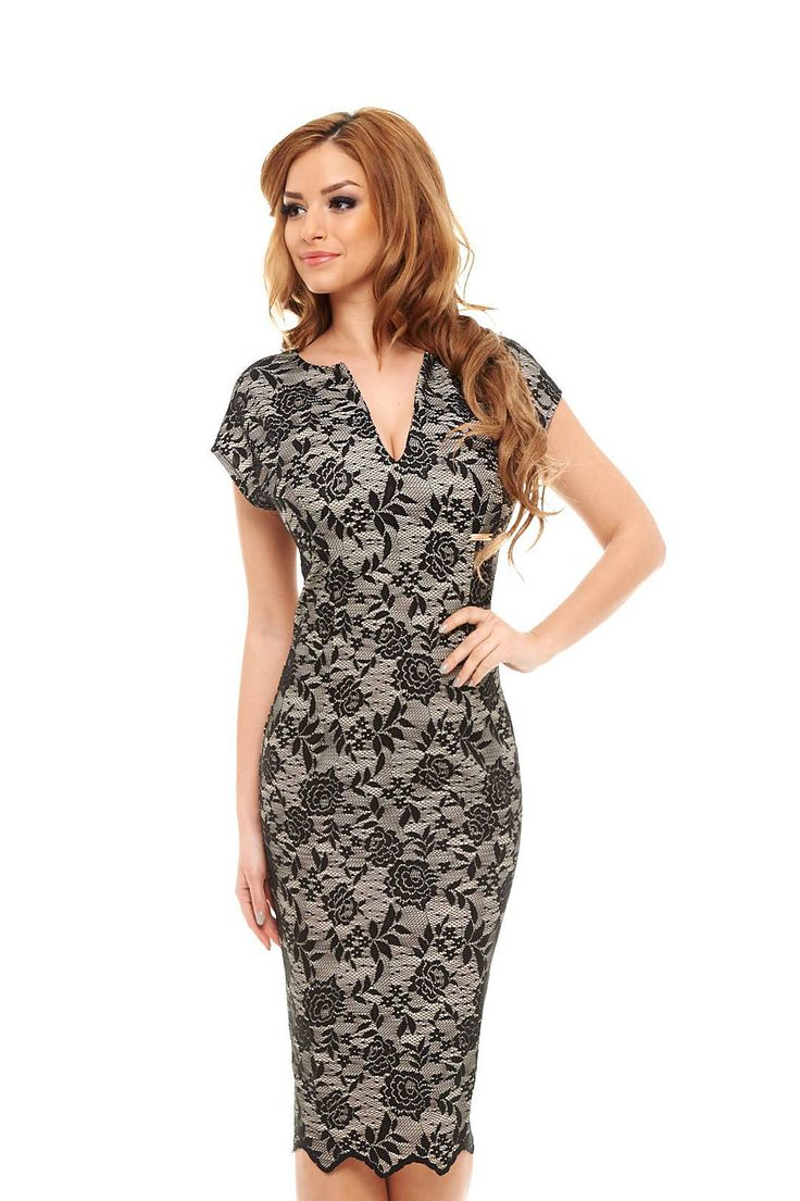 PrettyGirl Orphic Black Dress