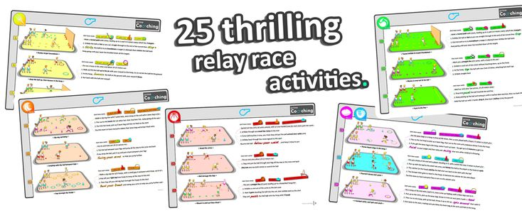 relay races games sport pe activities ideas