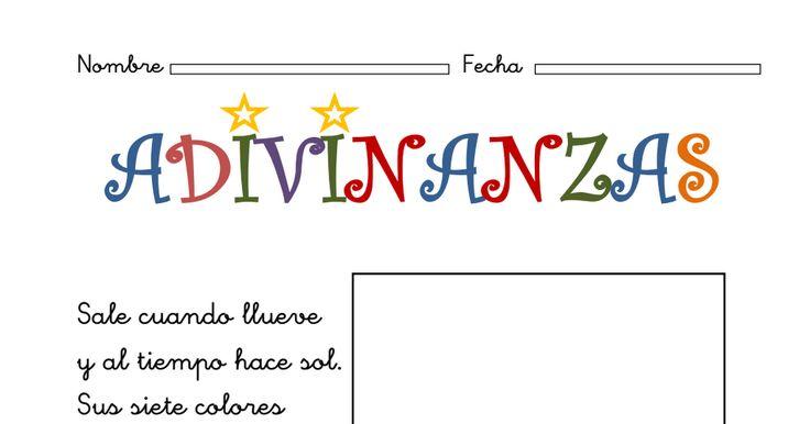 Adivinanzas para niños. Solución con pictogramas.pdf