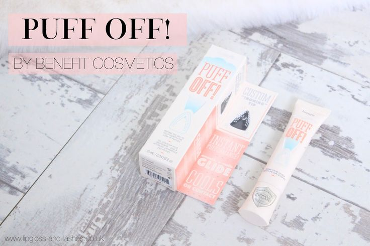 Benefit Cosmetics 'Puff Off!' | Review | Lipgloss & Lashes