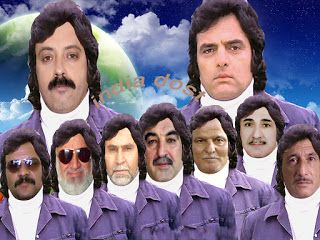 Fans of Feroz Khan saab they try to imitate him .