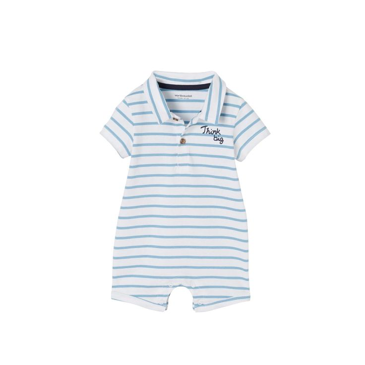 Costume de plage col polo   – Products