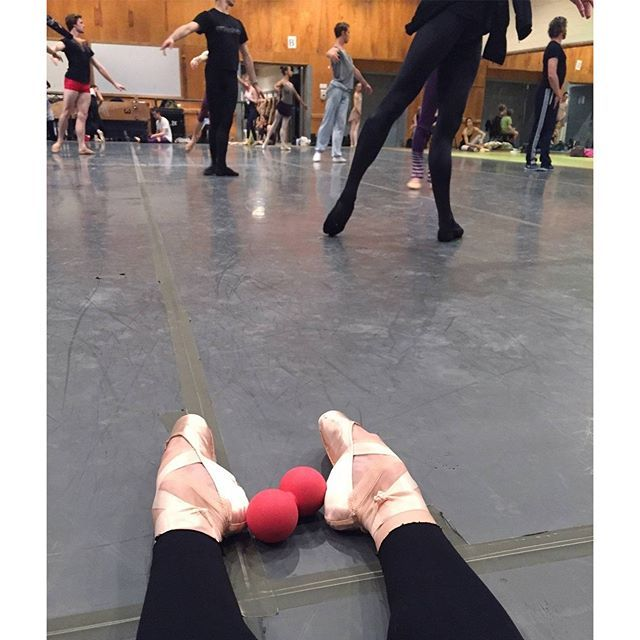 Melanie Hamrick of American Ballet Theatre with her FLX Infinity Ball