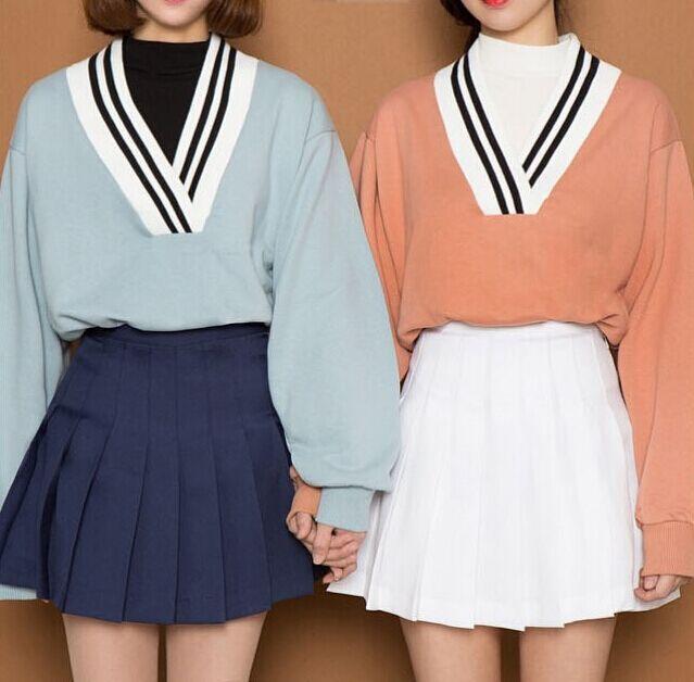 FSJ Stylenanda Macarons Candy Color Pleated Shorts Skirts Women's Year-round American Apparel Tennis Ball Sport Casual Falda