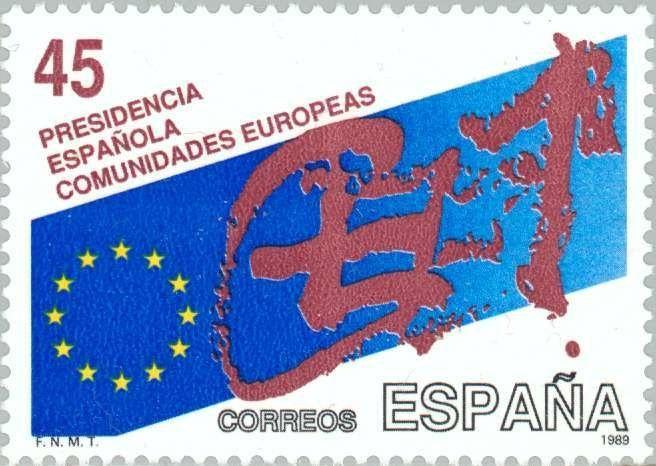 Presidencia española de Comunidad Europea - 1989