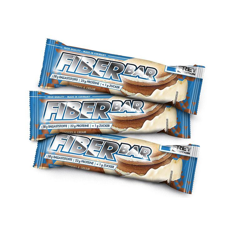 Mic's Body Shop Angebote FREY NUTRITION Fiber Bar - 60g Riegel Double Chocolate BrownieIhr QuickBerater