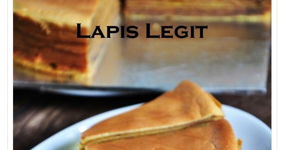 Akhirnya kesampain juga buat Lapis Legit tanpa Tepung Terigu, rasanya sama dengan Lapis pakai tepung cuma tekstur lebih basah sedikit tap...