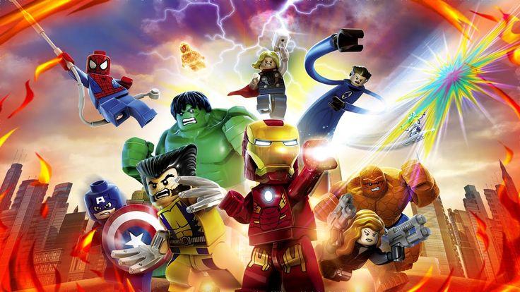 LEGO МСТИТЕЛИ Marvel's Avengers Прохождение Часть 2 Скипетр Посох Локи! ...