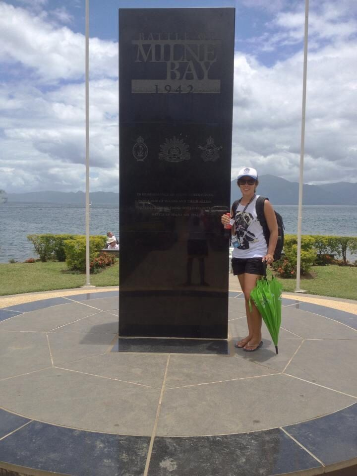 Alotau war memorial Australian soldiers 1942 Papua New Guinea PNG