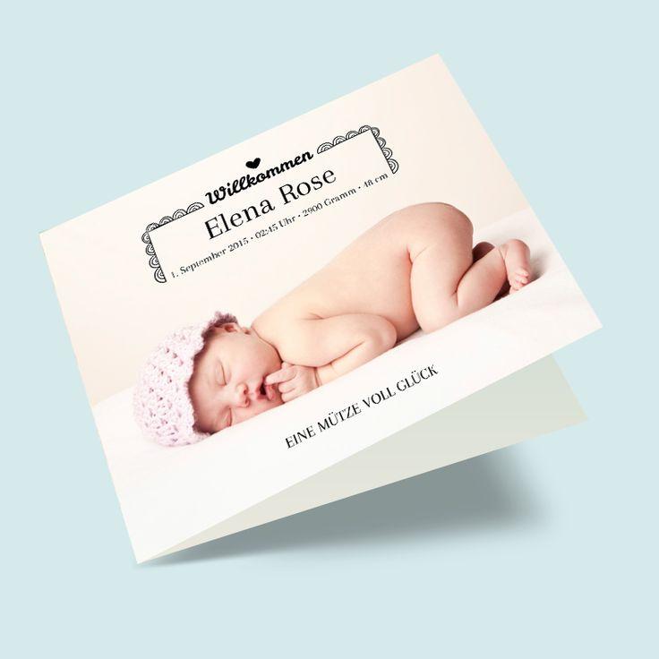 1000 images about babykarten geburtskarten selber gestalten on pinterest babies. Black Bedroom Furniture Sets. Home Design Ideas