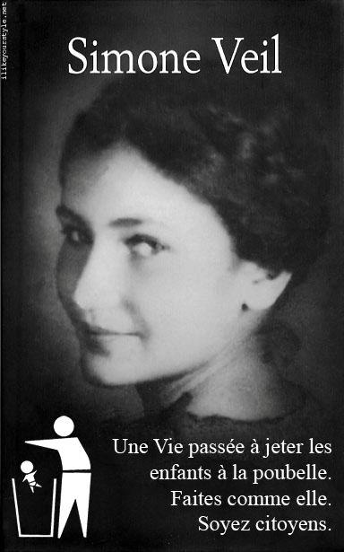Simone Veil.