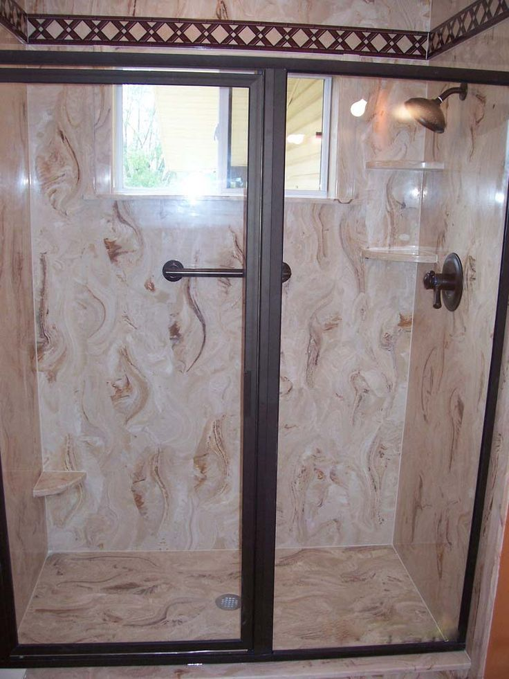 Cultured Marble Shower Walls | We will custom build your shower walls based on your specifications ...