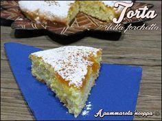 Torta della forchetta ricetta A pummarola 'ncoppa blog cucina marmellata uova farina
