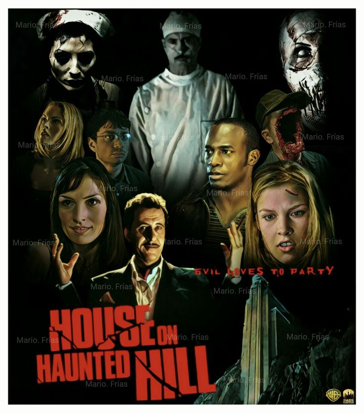 House On Haunted Hill 1999 Edit By Mario. Frías