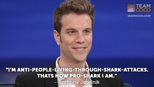 Anthony Jeselnik is pro-shark! #comedy #standup