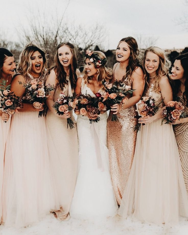 Just wow. I love the dresses-so pretty! Everyone looks so happy and it is definitely contagious.