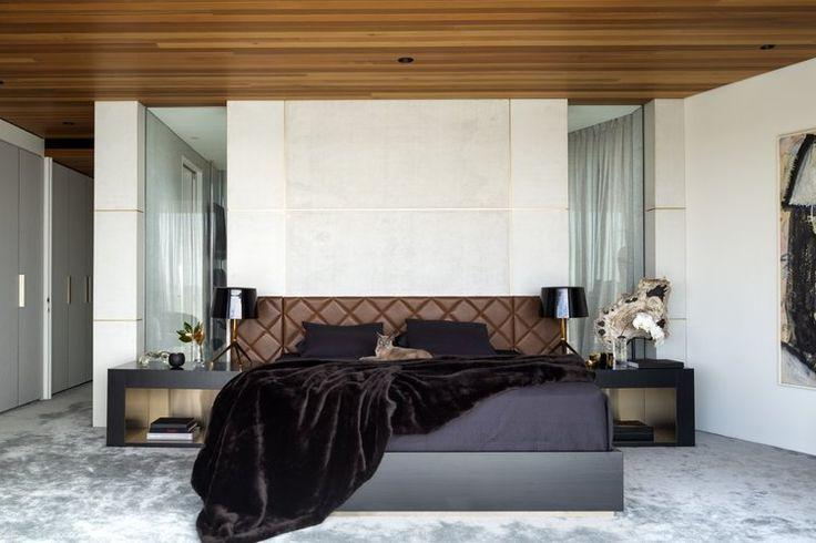 Alexandra Kidd Design Mosman House Project Master Bedroom