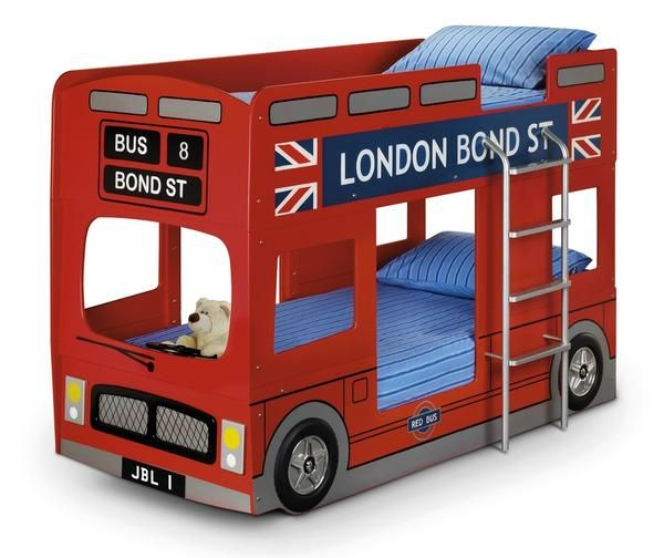 The iconic London Bus design transformed into a fun sleeping solution for any…