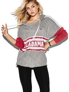 Support the Crimson Tide in style. Shop Alabama apparel including hoodies, t-shirts and more. Only at PINK.