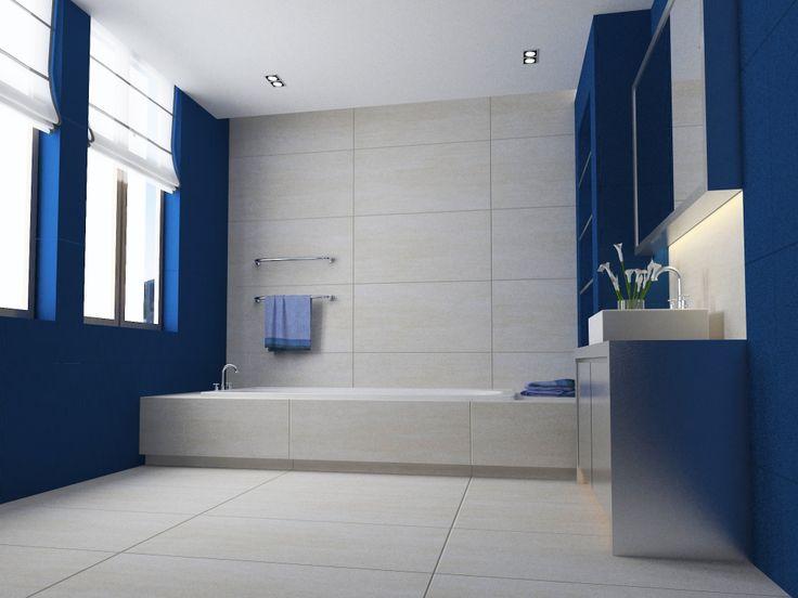 Imagen de pisos y azulejos de ba os ba os pinterest for Pisos para banos modernos