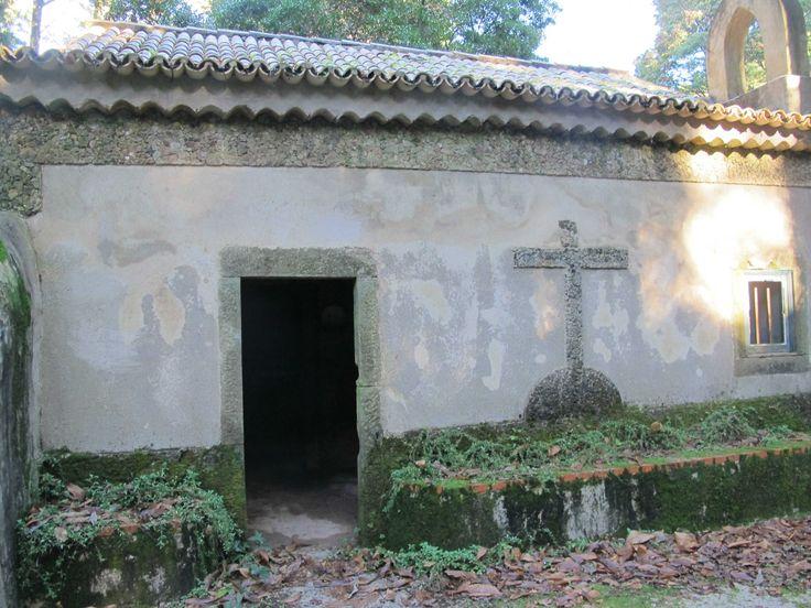 Buçaco - Portugal. Exterior de la capilla.