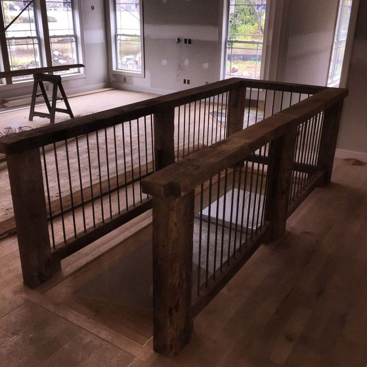 Albert S Beams With Rebar For A Stair Landing Reclaimed