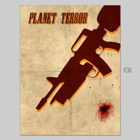 #planetterror #posters