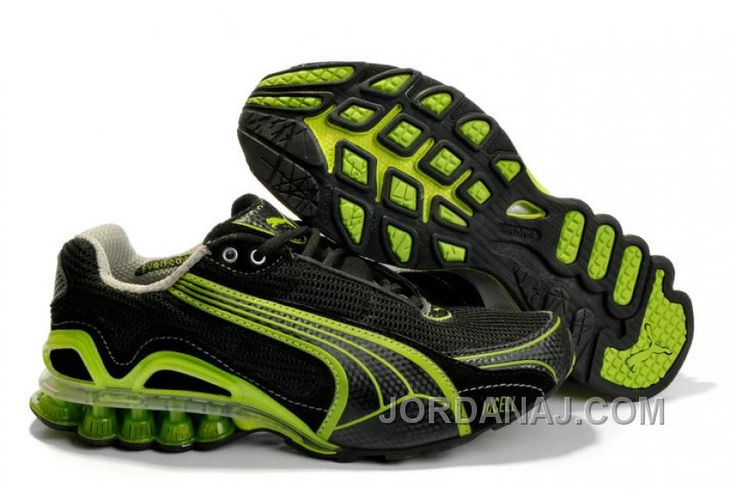 http://www.jordanaj.com/puma-cell-sorai-running-shoes-blackgreen-authentic.html PUMA CELL SORAI RUNNING SHOES BLACKGREEN AUTHENTIC Only $91.00 , Free Shipping!