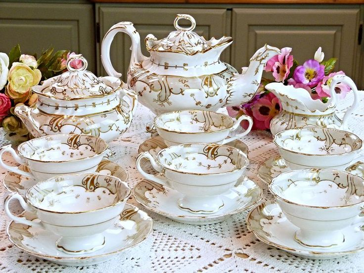 Elegant Tea Sets | ... of a tea set which looks so beautiful when set out on the tea table
