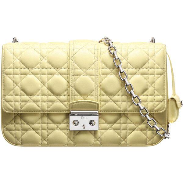 "MISS DIOR Borsa ""Miss Dior"" pelle geranio ❤ liked on Polyvore featuring bags, handbags, dior, hand bags, handbags purses, beige handbags, man bag and christian dior purses"