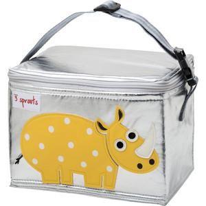 3 Sprouts Сумка для обеда Жёлтый носорог (Yellow Rhino SPR1003) (00003)  — 1599р.  Дополнительная информация  Сумки сделаны из материалов, не содержащих фталатов и свинца. Размер идеален для контейнеров, так что вы можете отправить детей в школу вместе с сытными закусками и обедами. В них еда не нагреется. Отмыть их чрезвычайно легко! Напишите на специальной бирке имя ребёнка! А при помощи удобной ручки можно прикреплять сумку к рюкзаку или другой сумке Информация с сайта производителя
