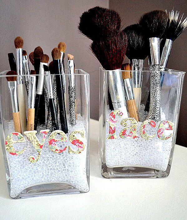 Cute makeup organization
