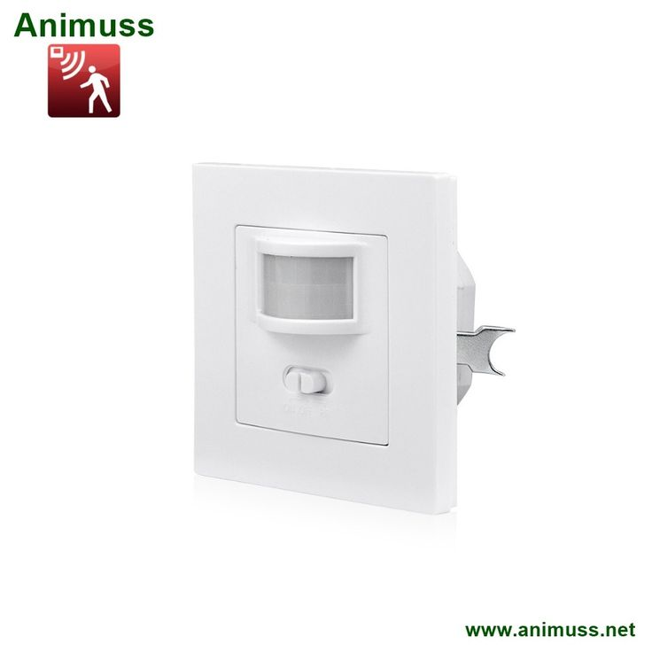 Auto ON/OFF Passive Infrared PIR Motion Sensor Switch Human Body Move IR Induction Recessed Wall mount Module for LED Light