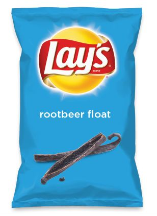 Wouldn't rootbeer float be yummy as a chip? Lay's Do Us A Flavor is back, and the search is on for the yummiest chip idea. Create one using your favorite flavors from around the country and you could win $1 million! https://www.dousaflavor.com See Rules.