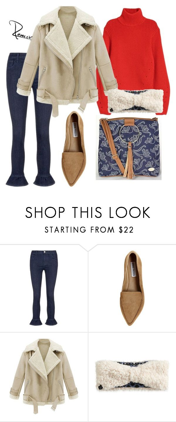 """""""Autumnal affair"""" by aleva on Polyvore featuring J Brand, Steve Madden, WithChic and Cuddl Duds"""