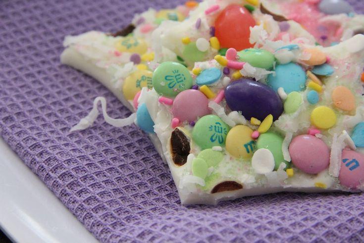 Adorable Easter dessert - Easter bark