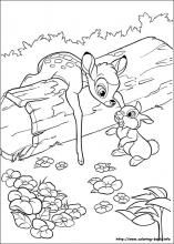 Bambi 2 Coloring Pages On Book BookQuilt BlocksColour