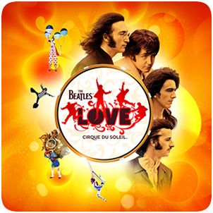 The Beatles LOVE: my favorite of all the Cirque du Soleil Shows--at The Mirage in Las Vegas
