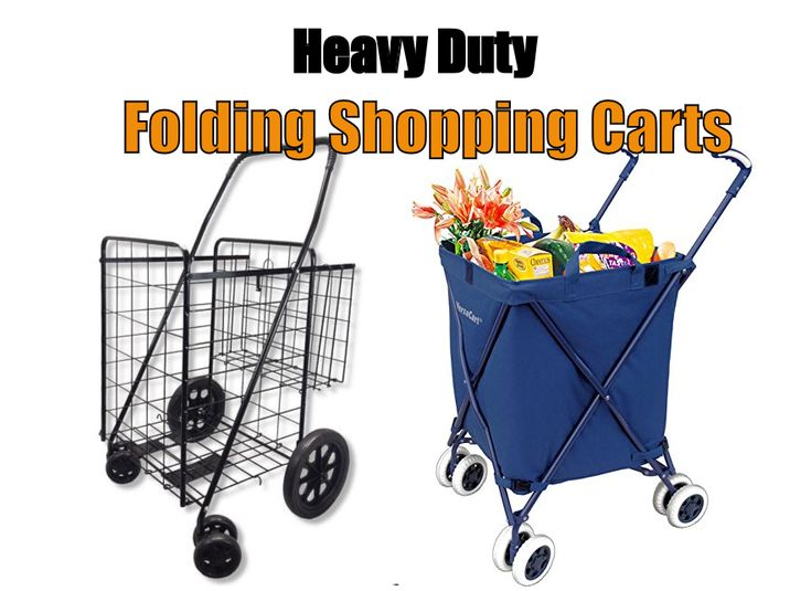 19 Best Heavy Duty Folding Shopping And Grocery Carts