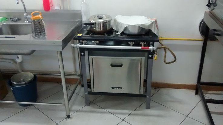 Confeitaria - fogão para caldas
