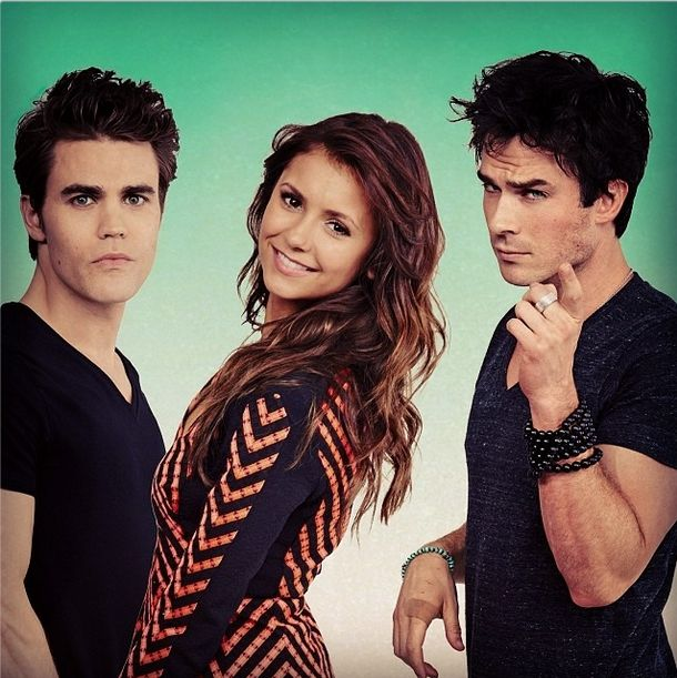 Photoshoot #36: TV Guide Comic Con - The vampire diaries (Série TV)