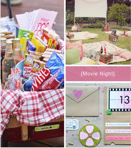 Check out my ideas for three different wedding rehearsal dinners - Movie Night, Football Fete, and Camp Picnic:
